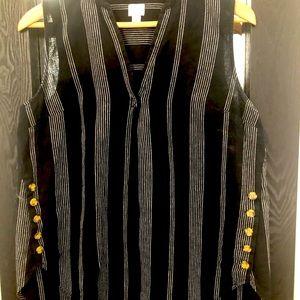 Target linen sleeveless top